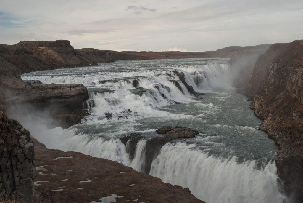 Водопад Гульфос
